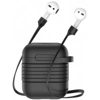 Чехол для Apple AirPods Baseus Black (Чёрный)