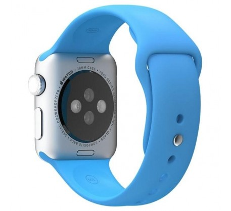 Ремешок для Apple Watch 42mm/44mm Sport Band Blue (OEM)