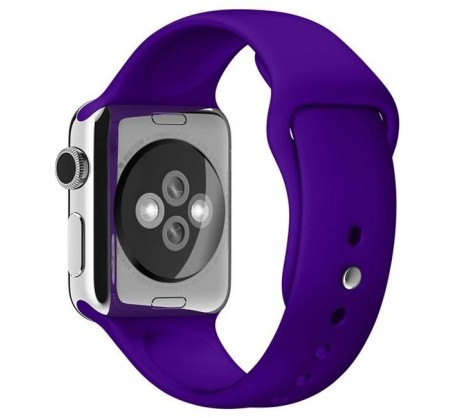 Ремешок для Apple Watch 38mm/40mm Sport Band Violet (OEM)