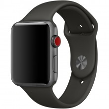 Ремешок для Apple Watch 38mm/40mm Sport Band Gray (OEM)