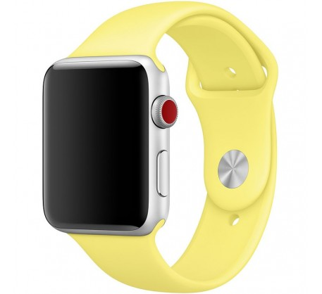 Ремешок для Apple Watch 38mm/40mm Sport Band Lemonade (OEM)