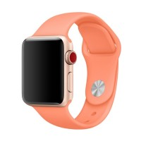 Ремешок для Apple Watch 38mm/40mm Sport Band Peach (OEM)