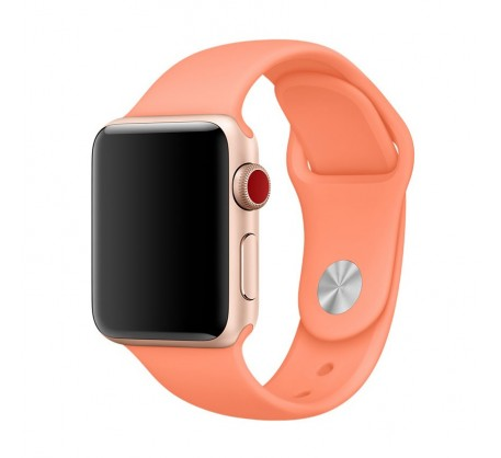 Ремешок для Apple Watch 42mm/44mm Sport Band Peach (OEM)