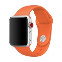 Ремешок для Apple Watch 38mm/40mm Sport Band Spicy Orange (OEM)