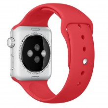 Ремешок для Apple Watch 42mm/44mm Sport Band Product Red (OEM)