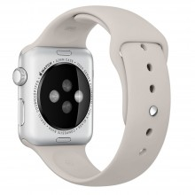 Ремешок для Apple Watch 38mm/40mm Sport Band Stone (OEM)