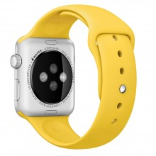 Ремешок для Apple Watch 42mm/44mm Sport Band Yellow (OEM)