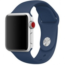 Ремешок для Apple Watch 38mm/40mm Sport Band Blue Cobalt (OEM)