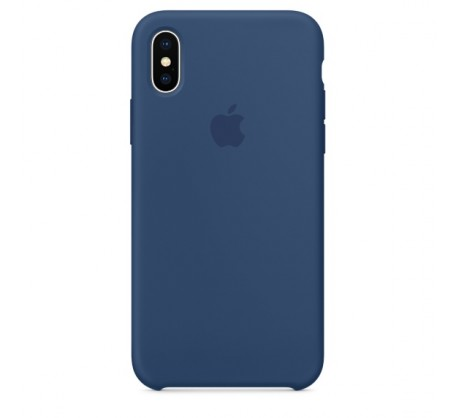 Apple iPhone X/XS Silicone Case - Blue Cobalt