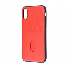 Чехол для iPhone X Totu Jazz Series Red