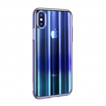Чехол для iPhone X Baseus Aurora Case Blue