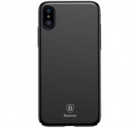 Чехол для iPhone X Baseus Meteorite Case Black WIAPIPHX-YU01