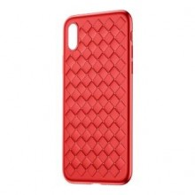 Чехол для iPhone XS Baseus Weaving Case Red