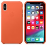 Чехол для iPhone X/XS Leather Case Sunset OEM