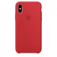 Оригинальный чехол для iPhone XS MAX Silicone Case - (PRODUCT)RED (MRWH2)
