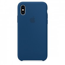 Оригинальный чехол для iPhone XS MAX Silicone Case - Blue Horizon (MTFE2)