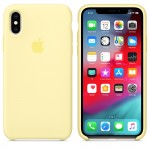 Силиконовый чехол для iPhone XR Silicone Case Mellow Yellow Copy