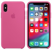 Силиконовый чехол для iPhone XS Silicone Case Copy Dragon Fruit