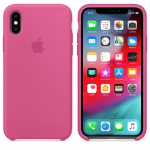 Силиконовый чехол для iPhone XS Silicone Case Dragon Fruit MW9A2 OEM