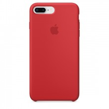 Оригинальный чехол для Apple iPhone 7 Plus/8 Plus Silicone Case - (PRODUCT)RED