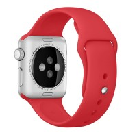 Ремешок для Apple Watch 42mm/44mm Sport Band Red (OEM)