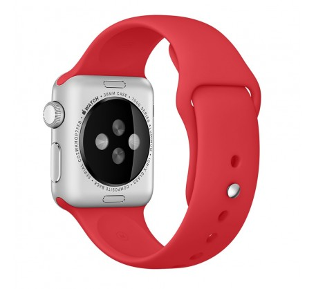 Ремешок для Apple Watch 38mm/40mm Sport Band Red (OEM)