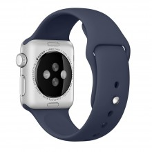 Ремешок для Apple Watch 42mm/44mm Sport Band Midnight Blue (OEM)