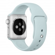 Ремешок для Apple Watch 38mm/40mm Sport Band Turquoise (OEM)