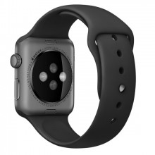 Ремешок для Apple Watch 42mm/44mm Sport Band Black (OEM)