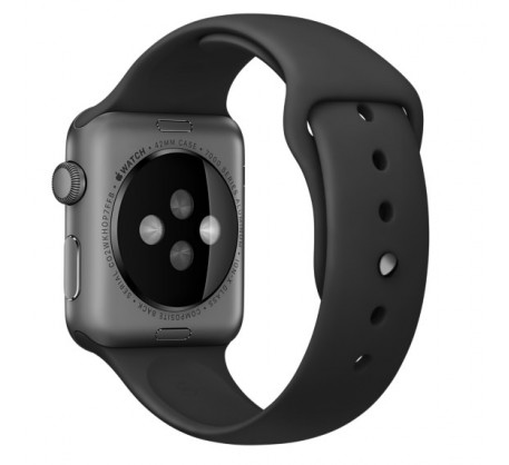 Ремешок для Apple Watch 38mm/40mm Sport Band Black (OEM)