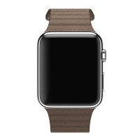 Ремешок Apple Leather Loop Band for Apple Watch 42mm/44mm Brown (OEM)