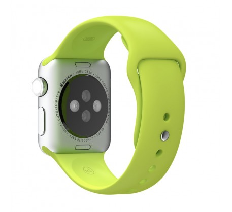 Ремешок для Apple Watch 38mm/40mm Sport Band Green (OEM)