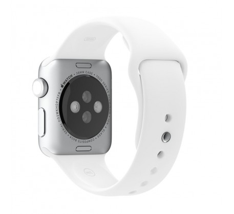 Ремешок для Apple Watch 38mm/40mm Sport Band White (OEM)