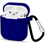 Чехол для Apple AirPods с карабином Midnight Blue