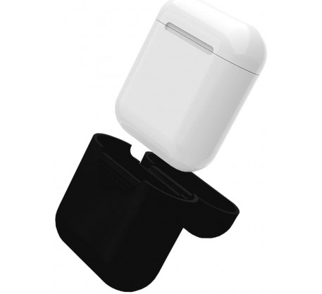 Чехол для Apple AirPods Black (Чёрный)