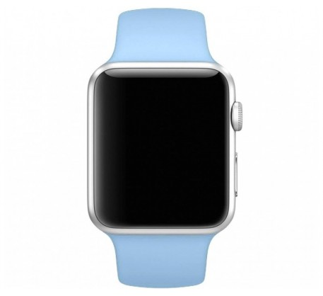 Ремешок для Apple Watch 38mm/40mm Sport Band Light Blue (OEM)