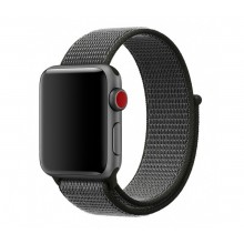 Ремешок для Apple Watch 38mm/40mm Sport Loop Dark Olive (OEM)