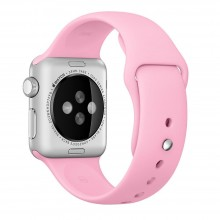Ремешок для Apple Watch 42mm/44mm Sport Band Pink (OEM)