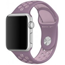 Ремешок для Apple Watch Nike+ 38mm/40mm Violet/Pink Nike Sport Band (OEM)