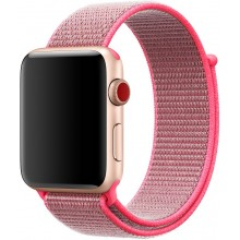 Ремешок для Apple Watch 38mm/40mm Sport Loop Hot Pink (OEM)