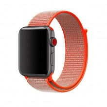 Ремешок для Apple Watch 38mm/40mm Sport Loop Spicy Orange (OEM)