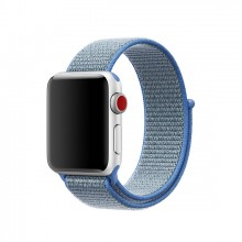 Ремешок для Apple Watch 38mm/40mm Sport Loop Tahoe Blue (OEM)