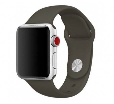 Ремешок для Apple Watch 42mm/44mm Sport Band Olive (OEM)