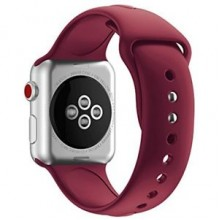 Ремешок для Apple Watch 38mm/40mm Sport Band Rose Red (OEM)