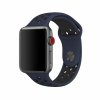 Ремешок для Apple Watch Nike+ 38mm/40mm Obsidian/Black Nike Sport Band (OEM)
