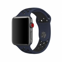 Ремешок для Apple Watch Nike+ 42mm/44mm Obsidian/Black Nike Sport Band (OEM)