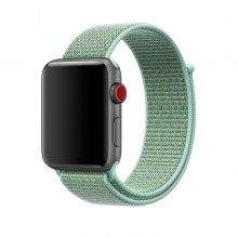 Ремешок для Apple Watch 42mm/44mm Sport Loop Marine Green (OEM)