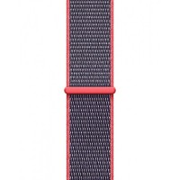 Ремешок для Apple Watch 42mm/44mm Sport Loop Electric Pink (OEM)