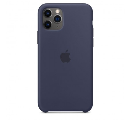 Силиконовый чехол для iPhone 11 Pro Silicone Case Midnight Blue MWYJ2