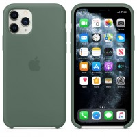 Силиконовый чехол для iPhone 11 Pro Silicone Case Pine Green MWYP2